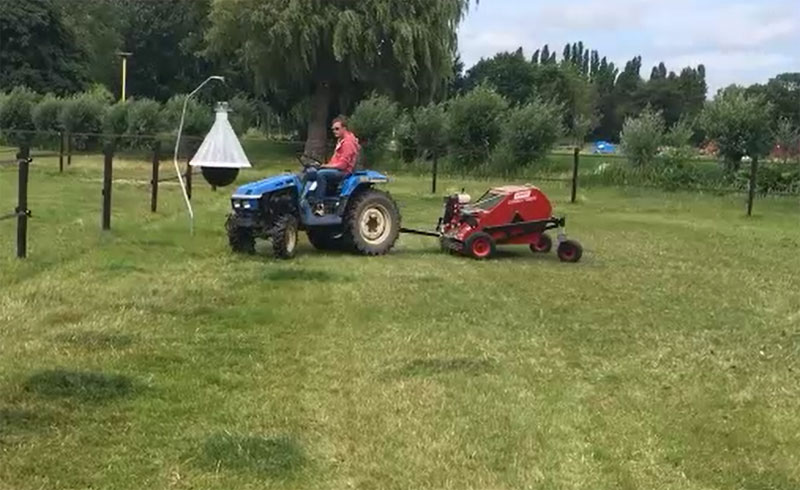 Paddock Cleaner Tractor